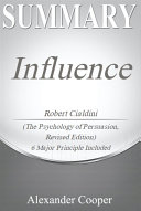 Summary of Influence Pdf/ePub eBook