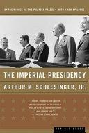 The Imperial Presidency