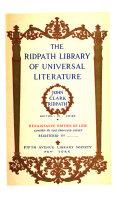 Ridpath Library of Universal Literature