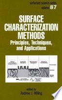 Surface Characterization Methods