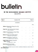 Bulletin   Socio economic Research Institute