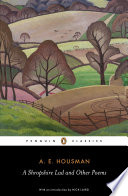 A. E. Housman Books, A. E. Housman poetry book