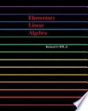Elementary Linear Algebra With Applications [Pdf/ePub] eBook