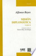Misión diplomática: Sexta parte, Brasil (1930-1936)