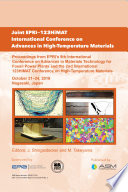Joint EPRI – 123HiMAT International Conference on Advances in High-Temperature Materials