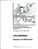 European Optical Communications and Networks: Papers on networks