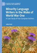 Pdf Minority Language Writers in the Wake of World War One Telecharger