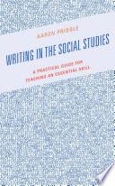 Writing in the Social Studies