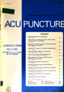 American Journal of Acupuncture