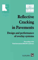 Pdf Reflective Cracking in Pavements