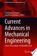 Current Advances in Mechanical Engineering