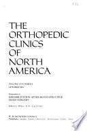 The Orthopedic Clinics of North America