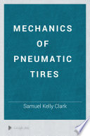 Mechanics Of Pneumatic Tires