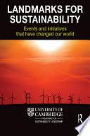 Landmarks for Sustainability