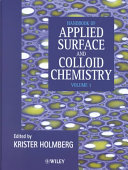 Handbook Of Applied Surface And Colloid Chemistry Book PDF