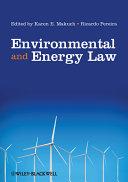 Environmental and Energy Law [Pdf/ePub] eBook