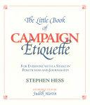 Pdf The Little Book of Campaign Etiquette