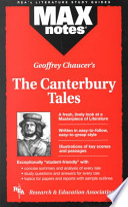 Canterbury Tales The Maxnotes Literature Guides