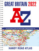 Great Britain A Z Handy Road Atlas 2022  A5 Spiral