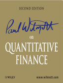 Paul Wilmott on Quantitative Finance Pdf/ePub eBook