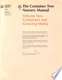 The Container Tree Nursery Manual: Containers and growing media