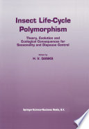 Insect life cycle polymorphism Book