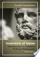 Inventors of Ideas  Introduction to Western Political Philosophy Book