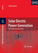 Solar Electric Power Generation   Photovoltaic Energy Systems