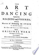 The Art of Dancing Explained by Reading and Figures