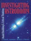 Investigating Astronomy Book