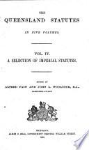 Queensland Statutes Book PDF
