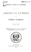 American Lumber in Foreign Markets