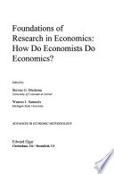 Foundations of Research in Economics