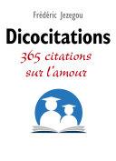 Pdf Dicocitations - 365 citations sur l'amour Telecharger