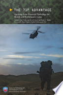 The 71f Advantage Applying Army Research Psychology For Health And Performance Gains Book PDF