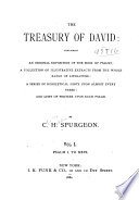 The Treasury of David Book