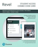 Revel for Business and Professional Communication -- Combo Access Card