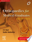 Orthopaedics for Medical Graduates   E book Book