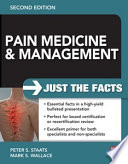 Pain Medicine And Management Just The Facts 2e Book PDF