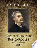 Nocturnes and Barcarolles for Solo Piano Book PDF