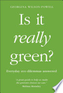 Is It Really Green  Book