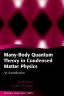 Many-Body Quantum Theory in Condensed Matter Physics [Pdf/ePub] eBook