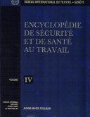 Encyclopédie de sécurité et de santé au travail ebook