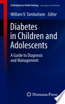 Diabetes in Children and Adolescents Book