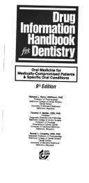 Drug Information Handbook for Dentistry Book
