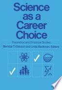 Science As A Carreer Choice