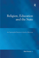 Religion  Education and the State