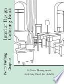 Interior Design Coloring Book