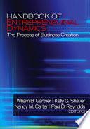 Handbook of Entrepreneurial Dynamics