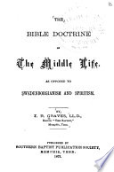 The Bible Doctrine of the Middle Life